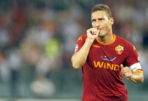 AS Roma Francesco Totti