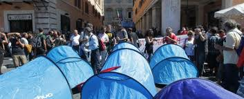 Manifestazione Roma