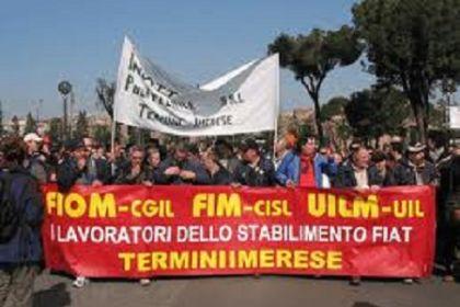 Roma: protesta degli operai di Termini Imerese. Alemanno tenta di bloccare manifestazione