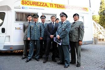 """Roma: è nato il """"Camper della sicurezza"""""""