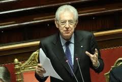 """Mario Monti fiducioso: """"Non serve una nuova manovra. L'Italia raggiungerà il pareggio di bilancio nel 2013"""""""