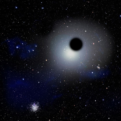 Universo, scoperti i due buchi neri più grandi mai avvistati