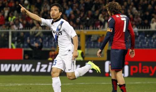 Genoa-Inter 0-1: Marassi si inchina a Nagatomo. Finale e Pagelle