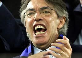 Il presidente dell'Inter Massimo Moratti