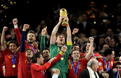 Ranking Fifa 2011: Spagna sempre prima, Italia nella top ten