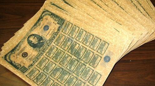 Bond Usa falsi: i pm di Potenza sequestrano 6 mila miliardi di dollari