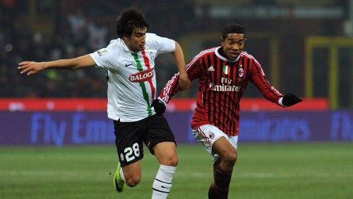 Coppa Italia: Caceres travolge il Milan, la Juventus si impone 2-1 a San Siro