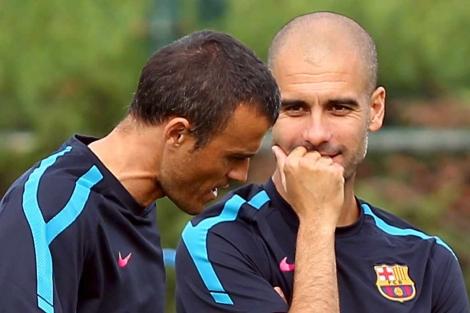 Calciomercato Roma: Luis Enrique al Barcellona se parte Guardiola?