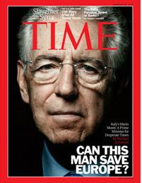 """Obama: """"Piena fiducia a Monti"""". E oggi il Premier sarà a Wall Street"""