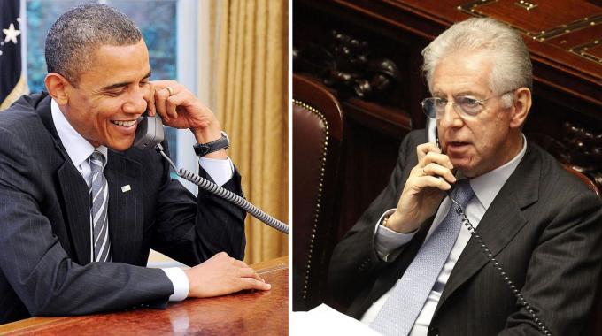 Il premier Mario Monti vola negli Stati Uniti: incontrerà Obama