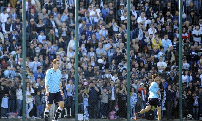 Lazio: tifosi euforici per il dopo-derby. Ieri in settemila a Formello