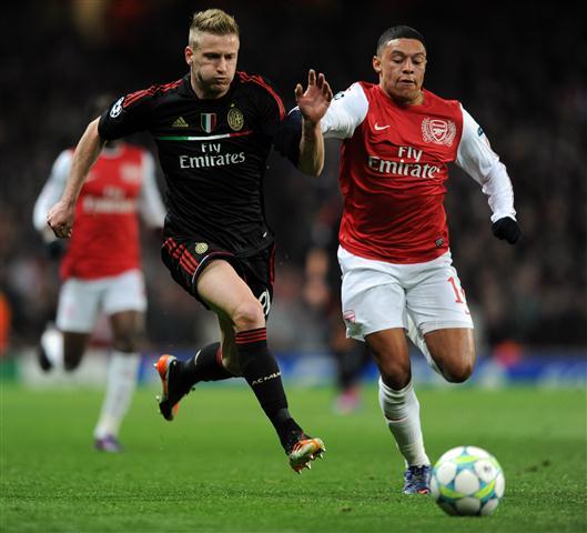 Champions League, l'Arsenal asfalta il Milan 3-0. Rossoneri ai quarti di finale