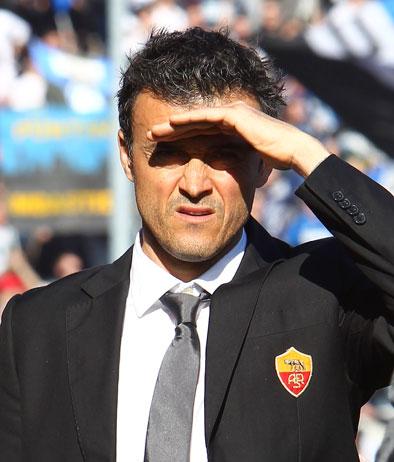 Luis Enrique e l'attacco sterile giallorosso: segna solo Borini