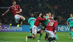 Milan-Barcellona: Allegri recupera Robinho. Le probabili formazioni
