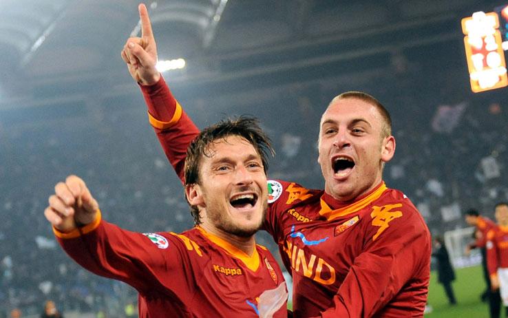 Totti e De Rossi in dubbio per la sfida contro il Genoa