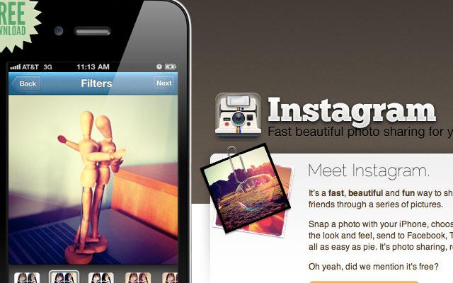Instagram in crescita, ora entra in campo Facebook