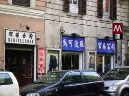 Il 90% dei negozi cinesi a Roma evade il fisco