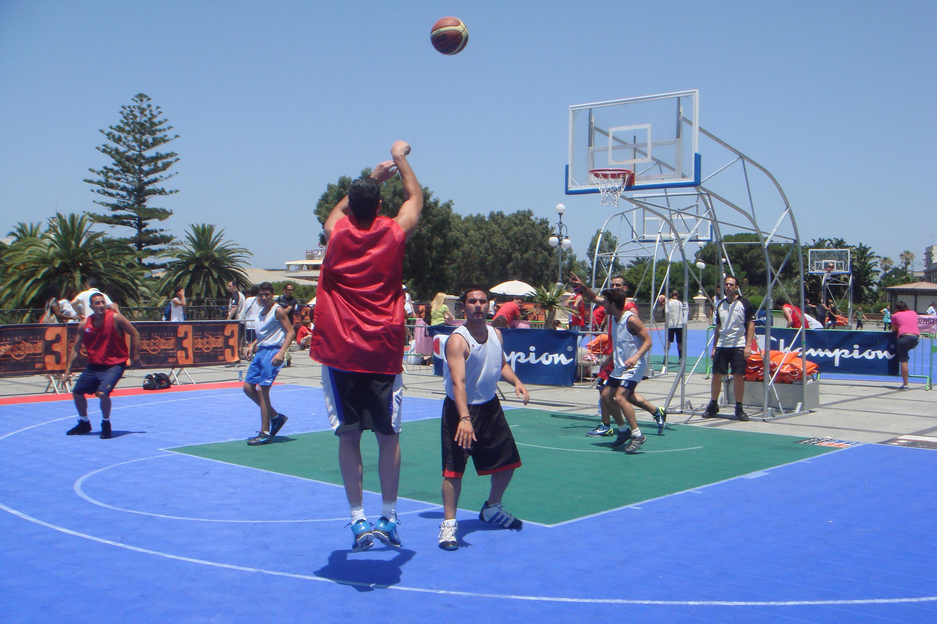 Streetball Italian Tour 2012: a Reggio Calabria la quarta tappa