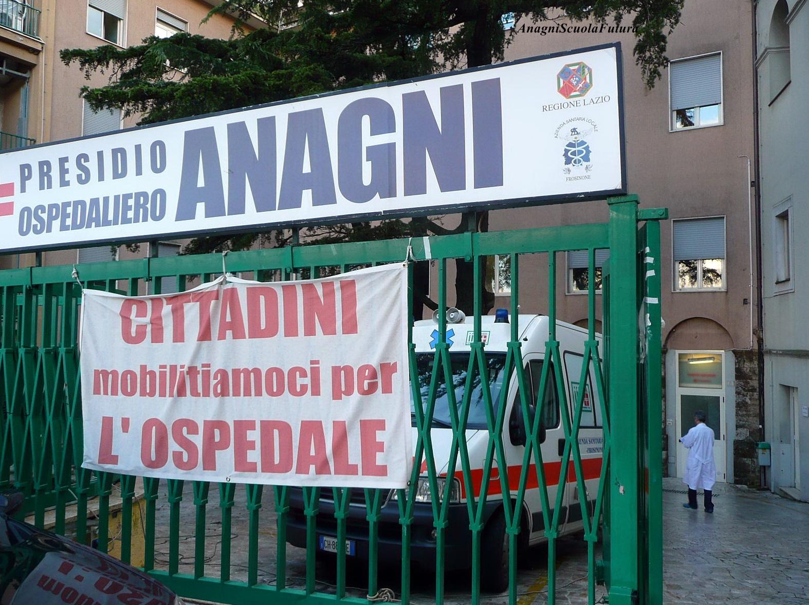 Il primario va in pensione e l'ospedale di Anagni rischia di chiudere il reparto di ortopedia