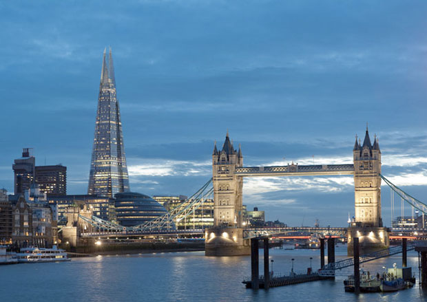 Londra inaugurato the shard il grattacelo pi alto d for Best modern hotels in london