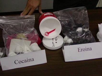Fiumi di cocaina a Roma, è record in l'Italia