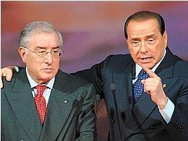 Dell'Utri indagato, estorsione ai danni di Silvio Berlusconi