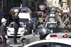 Roma è la terza città più caotica d'Europa a causa del traffico intenso