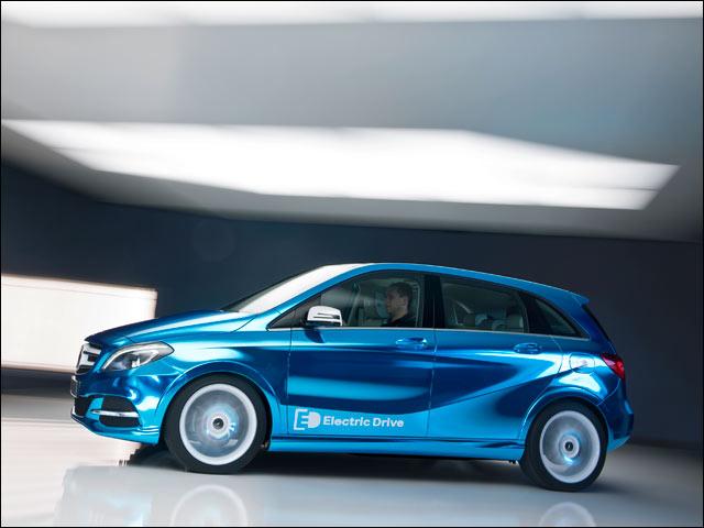 Presentata la nuova Mercedes Classe B Electric Drive, sul mercato dal 2014
