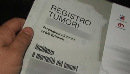 Probabilità di salvezza per il registro tumori in Campania