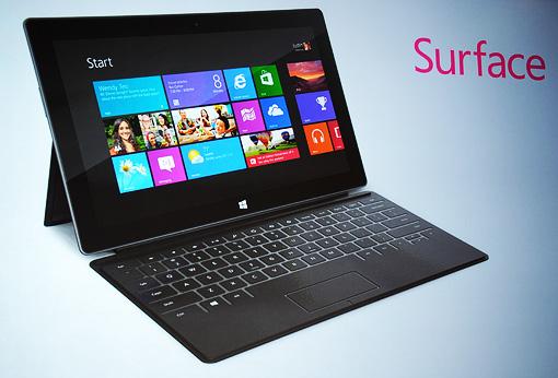 Microsoft lancia Surface, il suo primo tablet