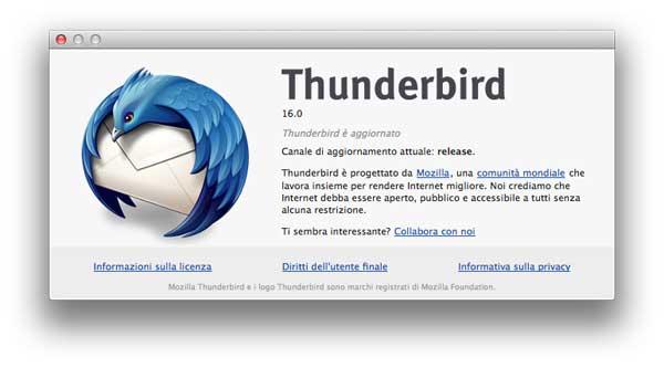 Mozilla: dopo Firefox 16 ecco Firefox per Android e Thunderbird 16