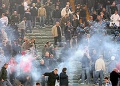 Scontri al derby Lazio-Roma:arrestato ultrà romanista