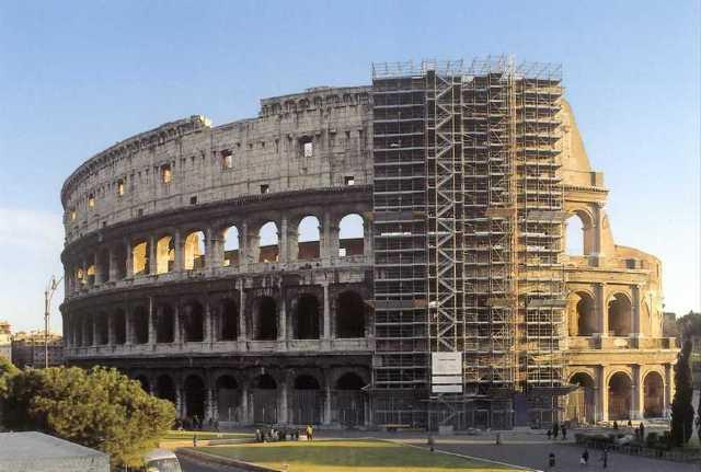 Il Restauro del Colosseo partirà a Maggio