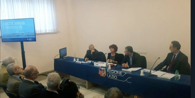"""Ostia riparte con l'Università. Fedeli: """"Scelta per il futuro"""""""
